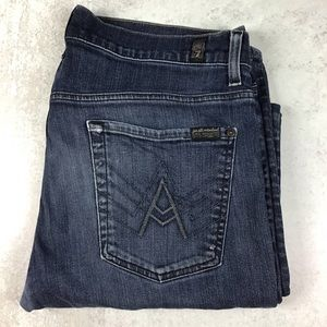 "7 For All Mankind ""A"" Pocket Bootcut Jeans 36"
